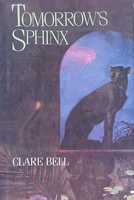 Tomorrow's Sphinx hardcover jacket