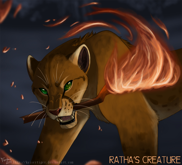 Ratha's Creature final art by Michelle Bryant