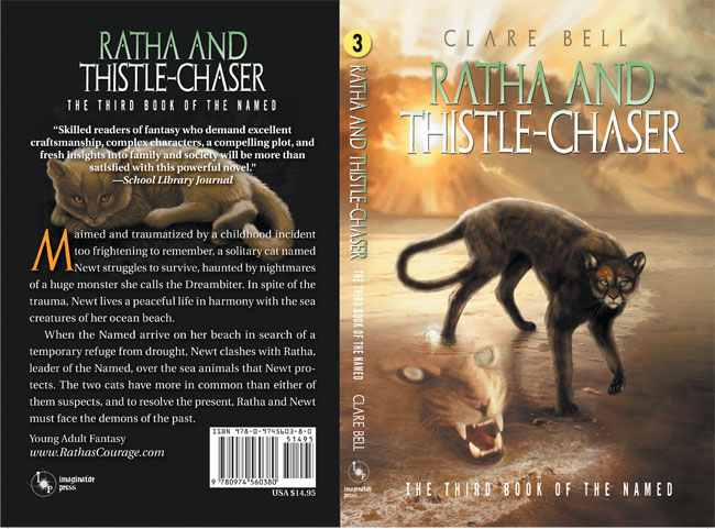 Cover for Ratha and Thistle-chaser from Imaginator Press 2010